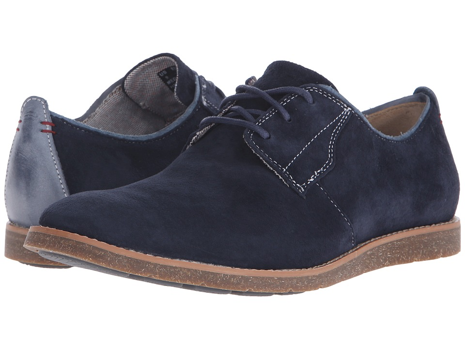 Hush Puppies - Hans Jester (Navy Suede) Men's Shoes