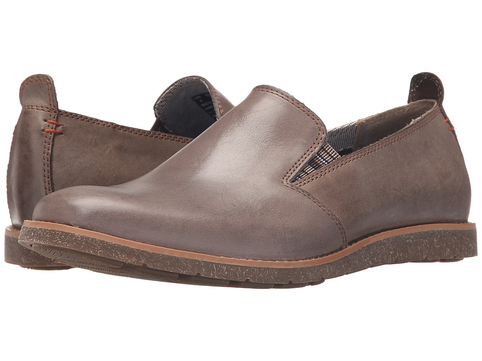 Hush Puppies Hoyt Jester (Grey Leather) Men