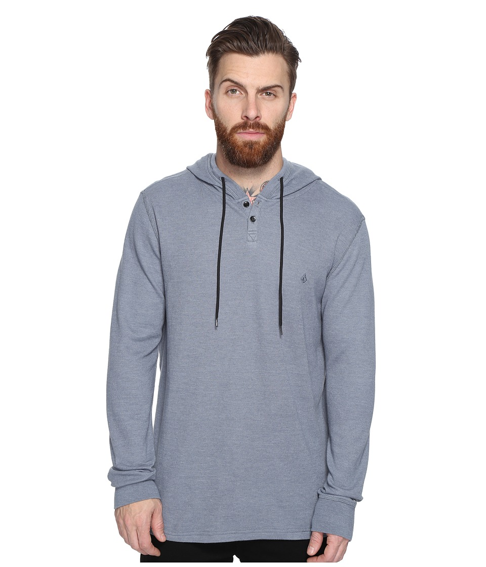 Volcom - Murphy Thermal (Ash Blue) Men's Clothing