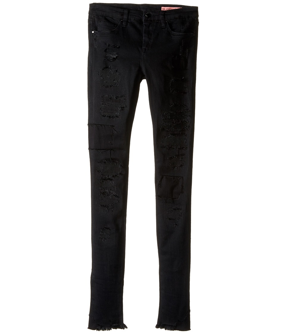 Blank NYC Kids - Black Distressed Jeans in The Life (Big Kids) (The Life) Girl's Jeans