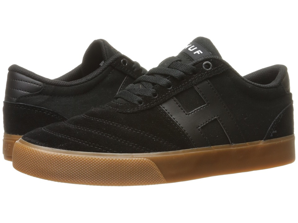 HUF - Galaxy (Black/Gum 1) Men's Skate Shoes