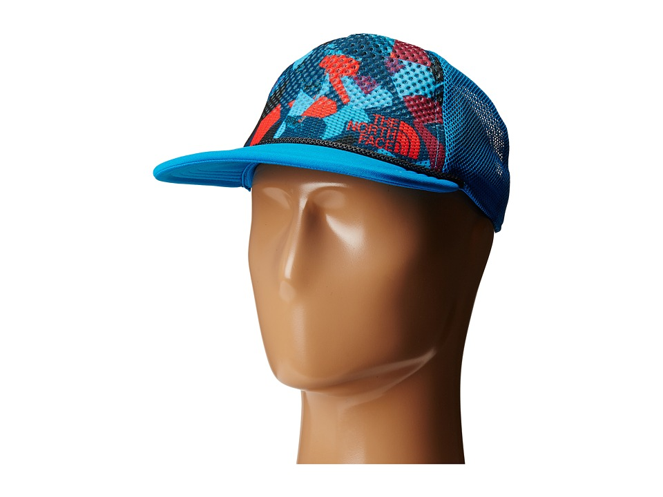 The North Face - Trail Trucker Hat (Hyper Blue) Caps  21b02ca7ea4