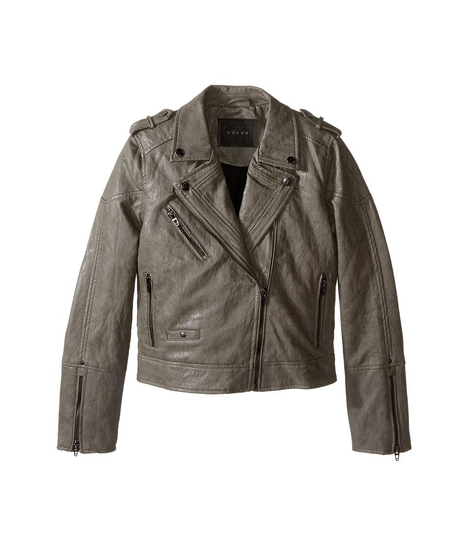 Blank NYC Kids - Vegan Leather Moto Jacket (Big Kids) (Last Minute) Girl's Coat