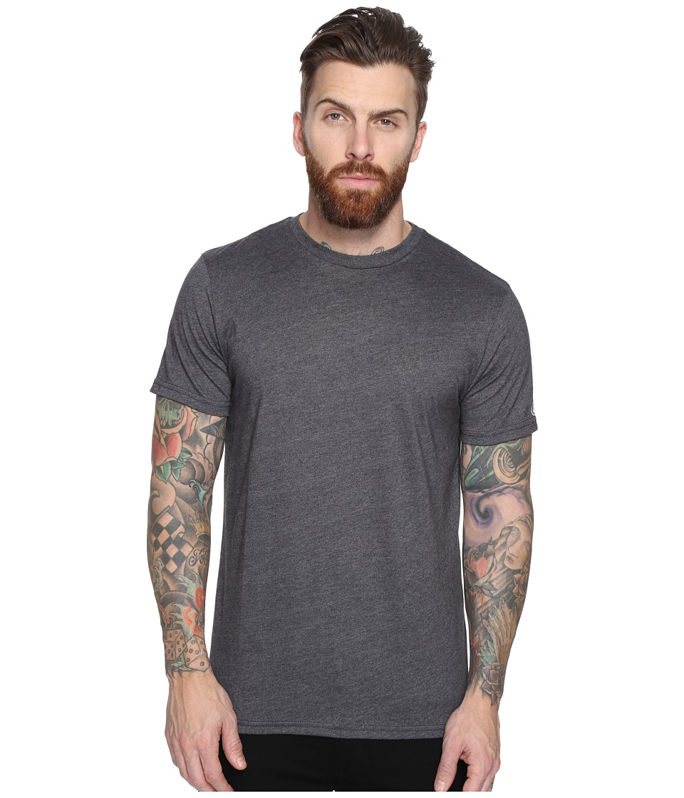 Volcom - Heather Solid T-Shirt (Heather Black) Men's T Shirt