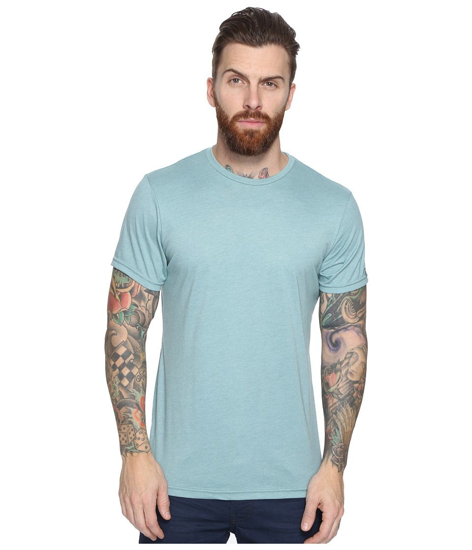 Volcom - Heather Solid T-Shirt (Sea Blue Heather) Men's T Shirt