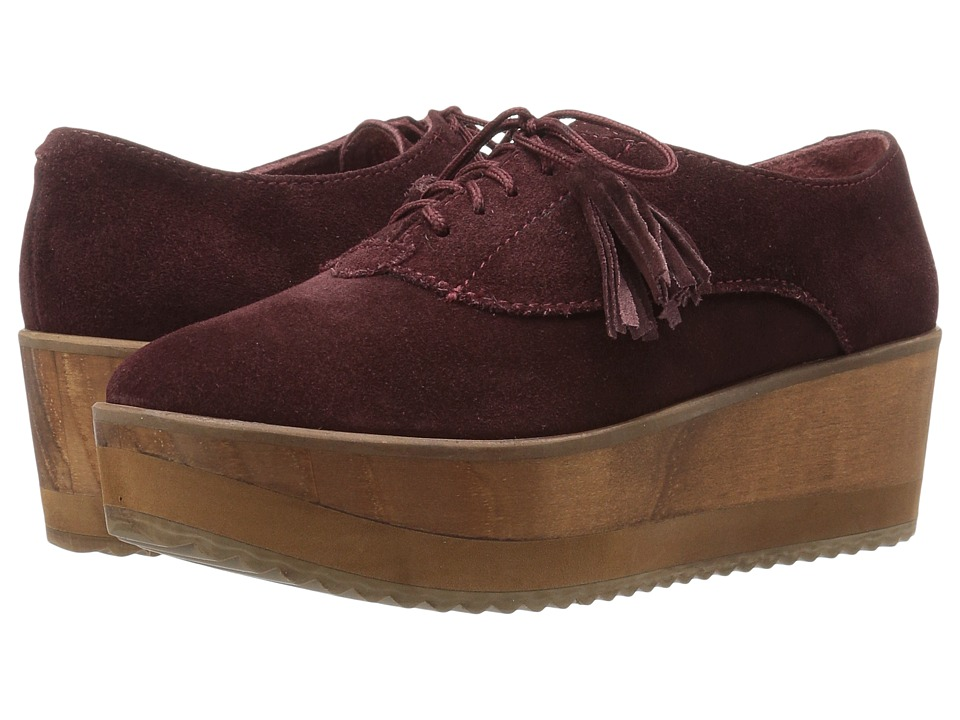 Cordani - Rene (Burgundy Suede) Women's Shoes