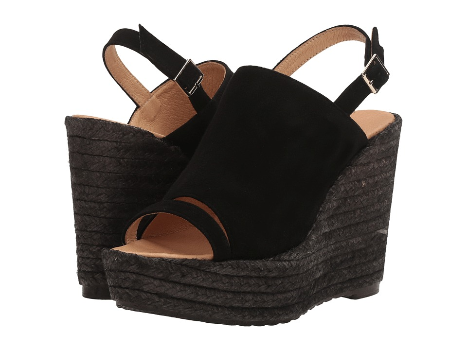 Cordani - Entice (Black Suede) Women's Wedge Shoes