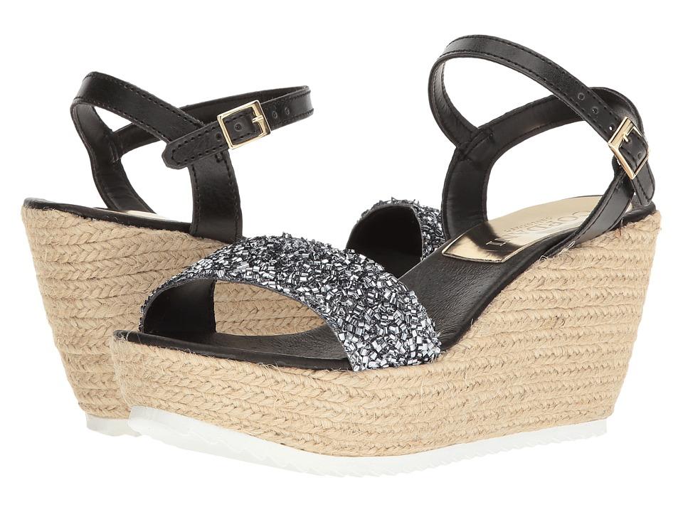 Cordani - Hydra (Silver Glitter) Women's Wedge Shoes