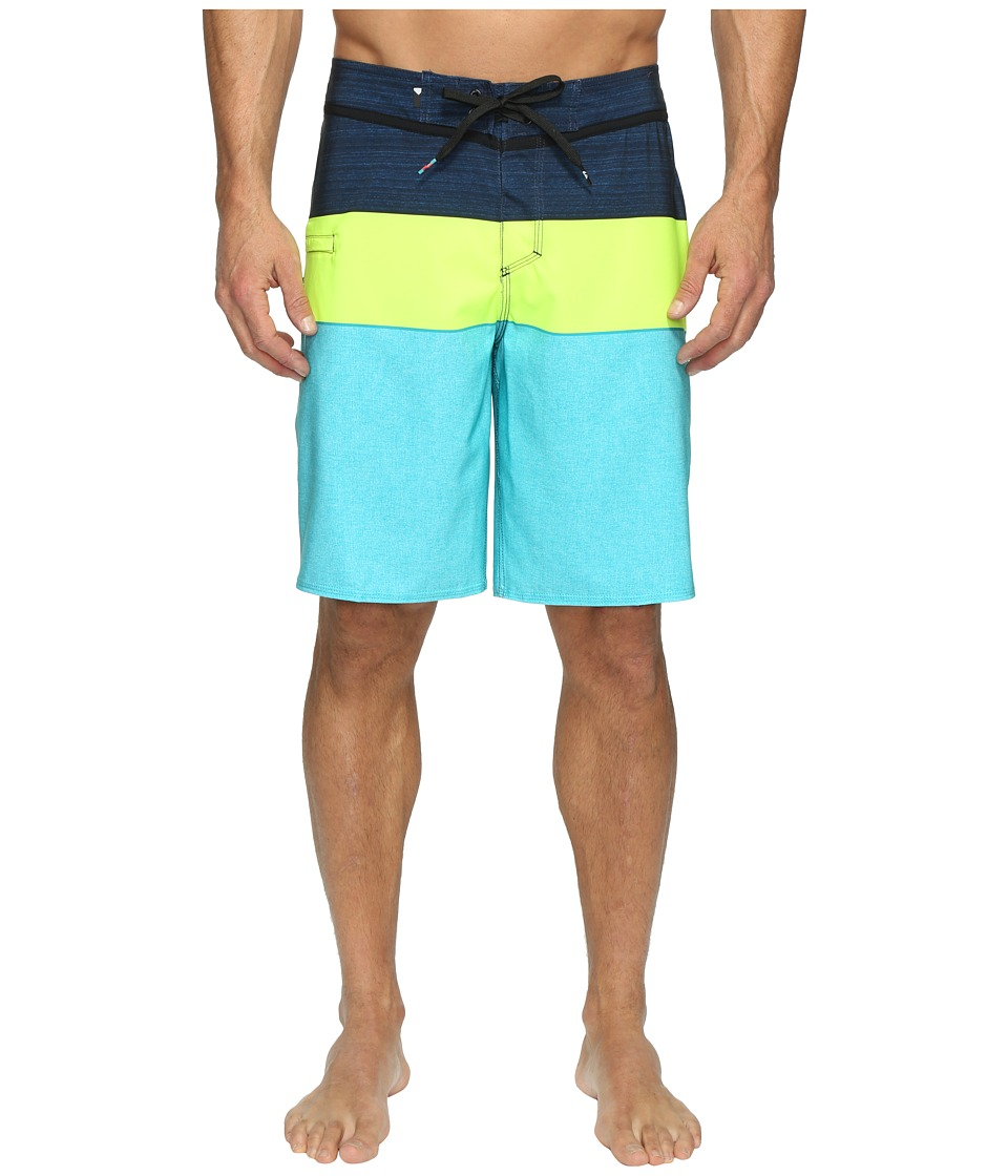 Quiksilver - Everyday Blocked Vee 20 Boardshorts (Viridian Green) Men's Swimwear