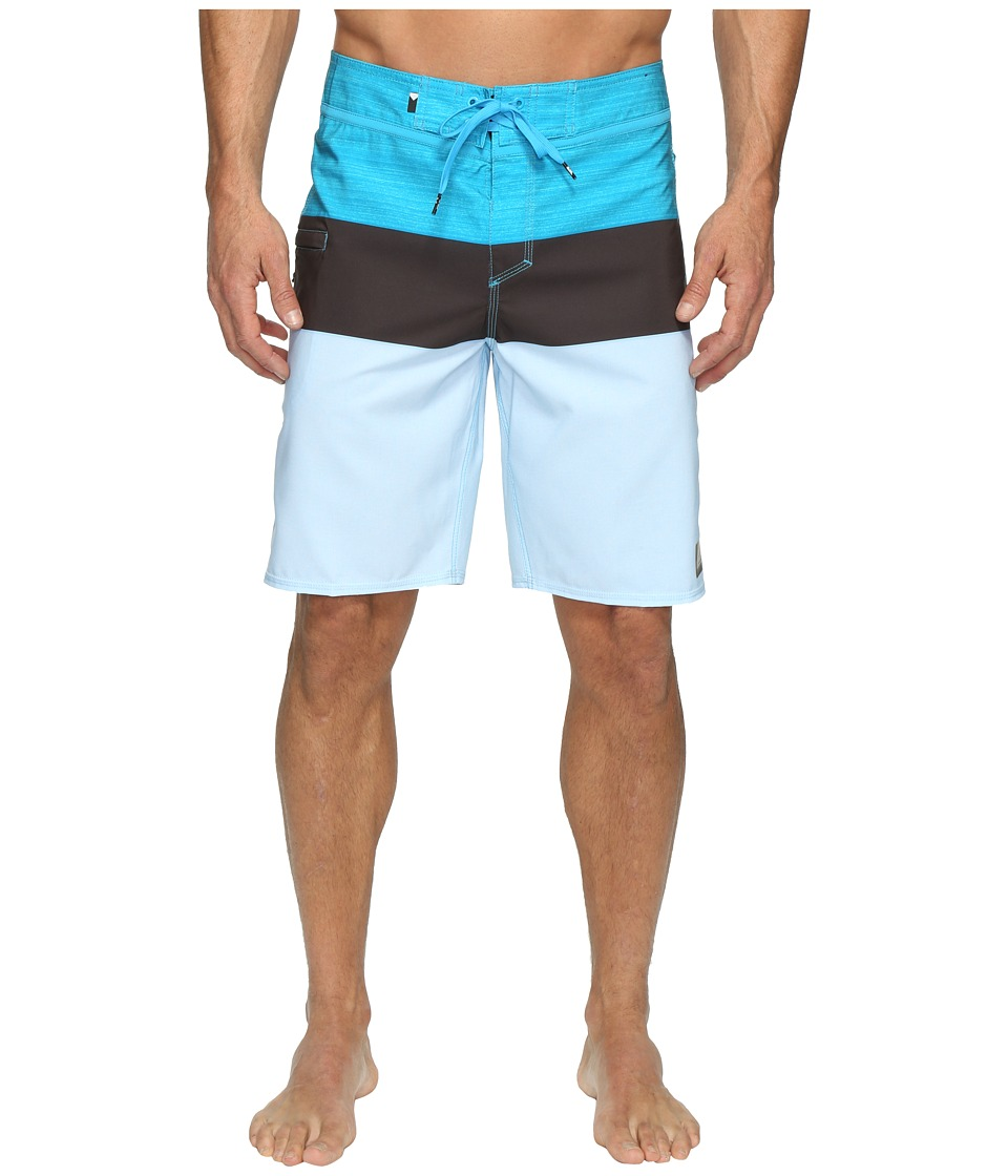Quiksilver - Everyday Blocked Vee 20 Boardshorts (Blue Danube) Men's Swimwear