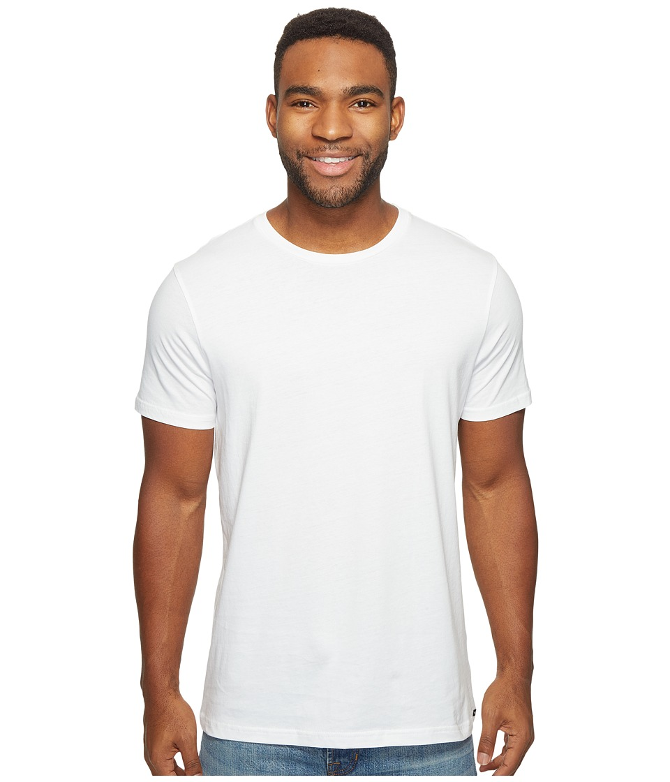 Volcom - Solid Short Sleeve T-Shirt (White) Men's T Shirt