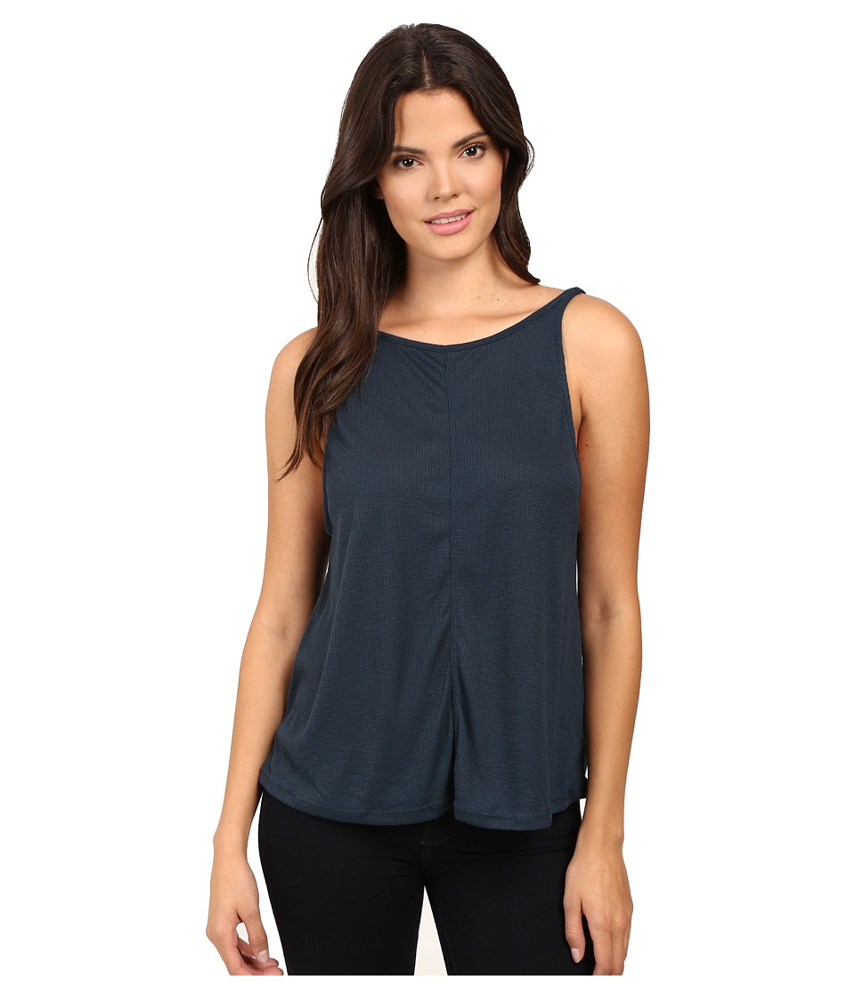 Free People - Sleek N Easy Tank Top (Sapphire) Women's Sleeveless