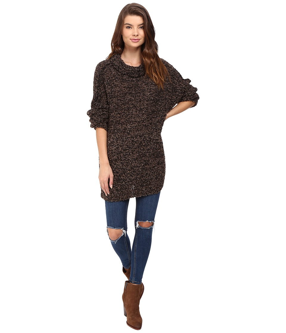 Free People - She's All That Pullover (Black) Women's Sweater