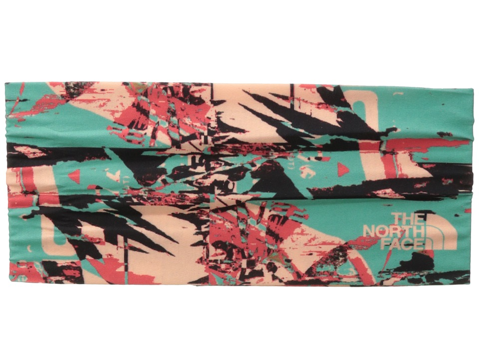 The North Face - Dipsea Half Headband (Agate Green Scatter Brain Print) Headband