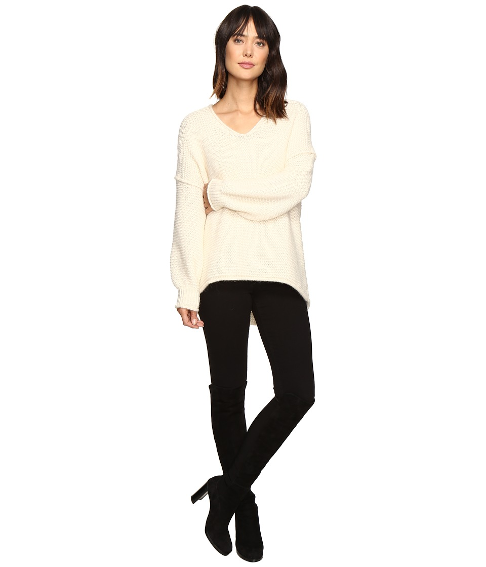 Free People - All Mine Sweater (Ivory) Women's Sweater