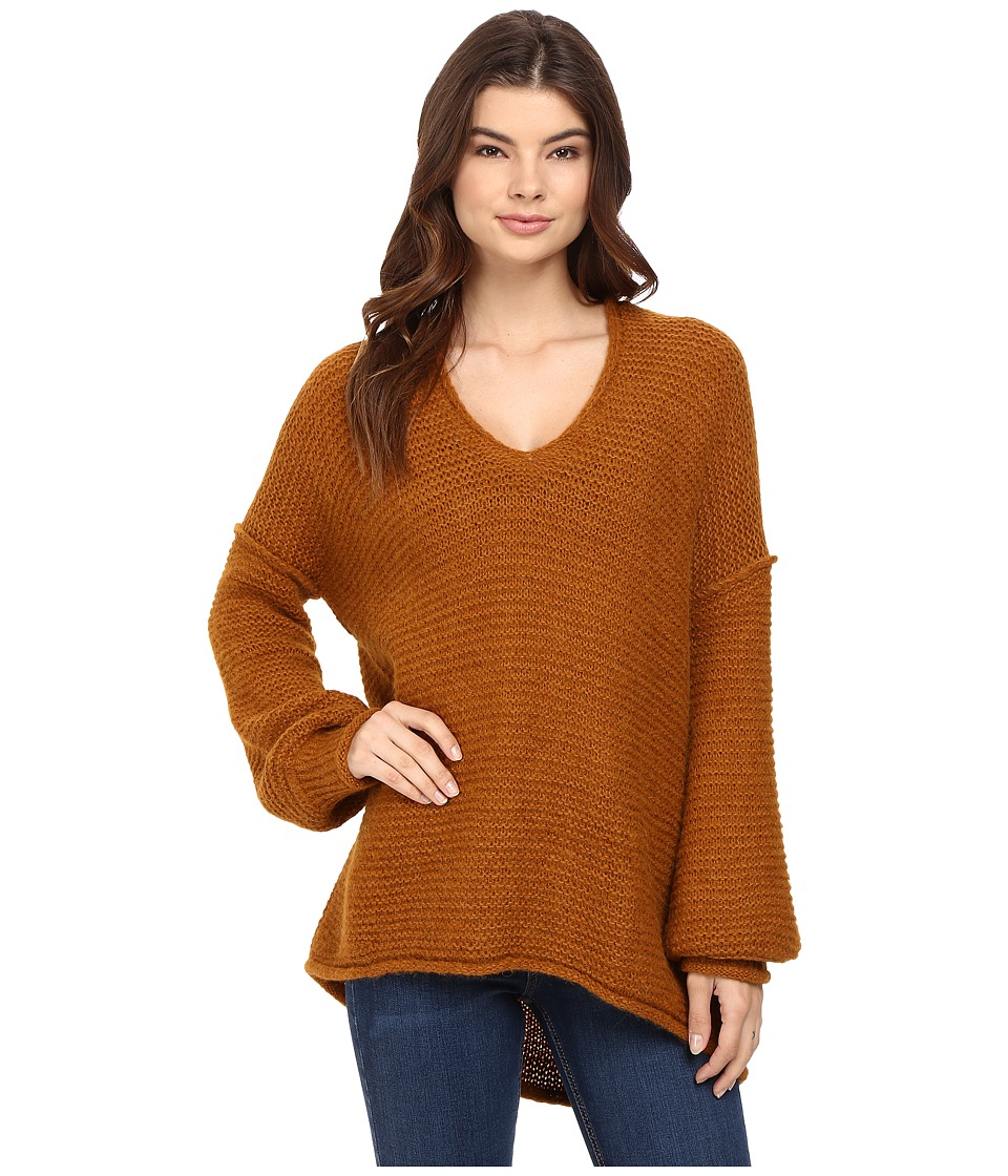 Free People - All Mine Sweater (Terracotta) Women's Sweater