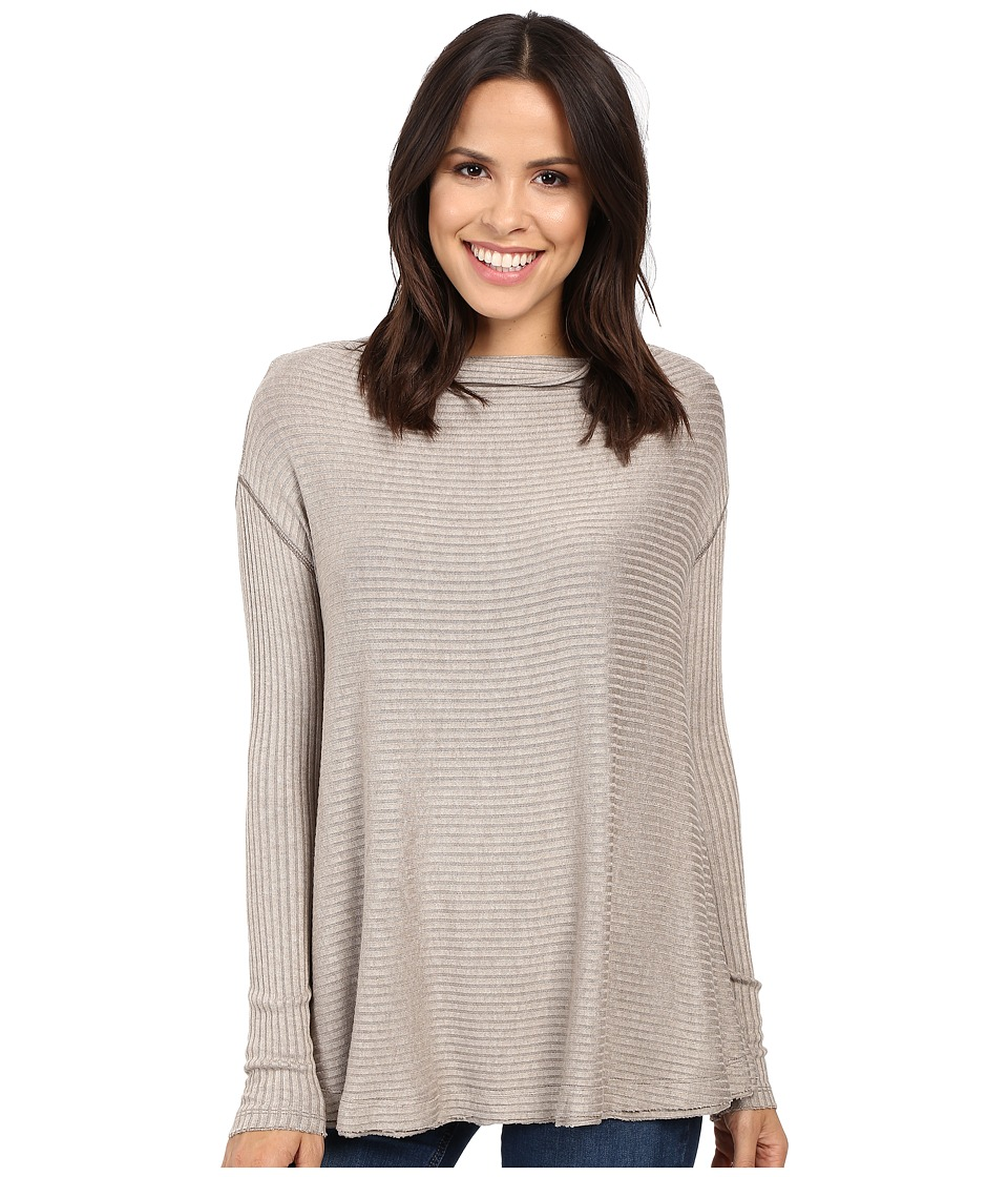 Free People - Lover Rib Thermal (Taupe) Women's Clothing