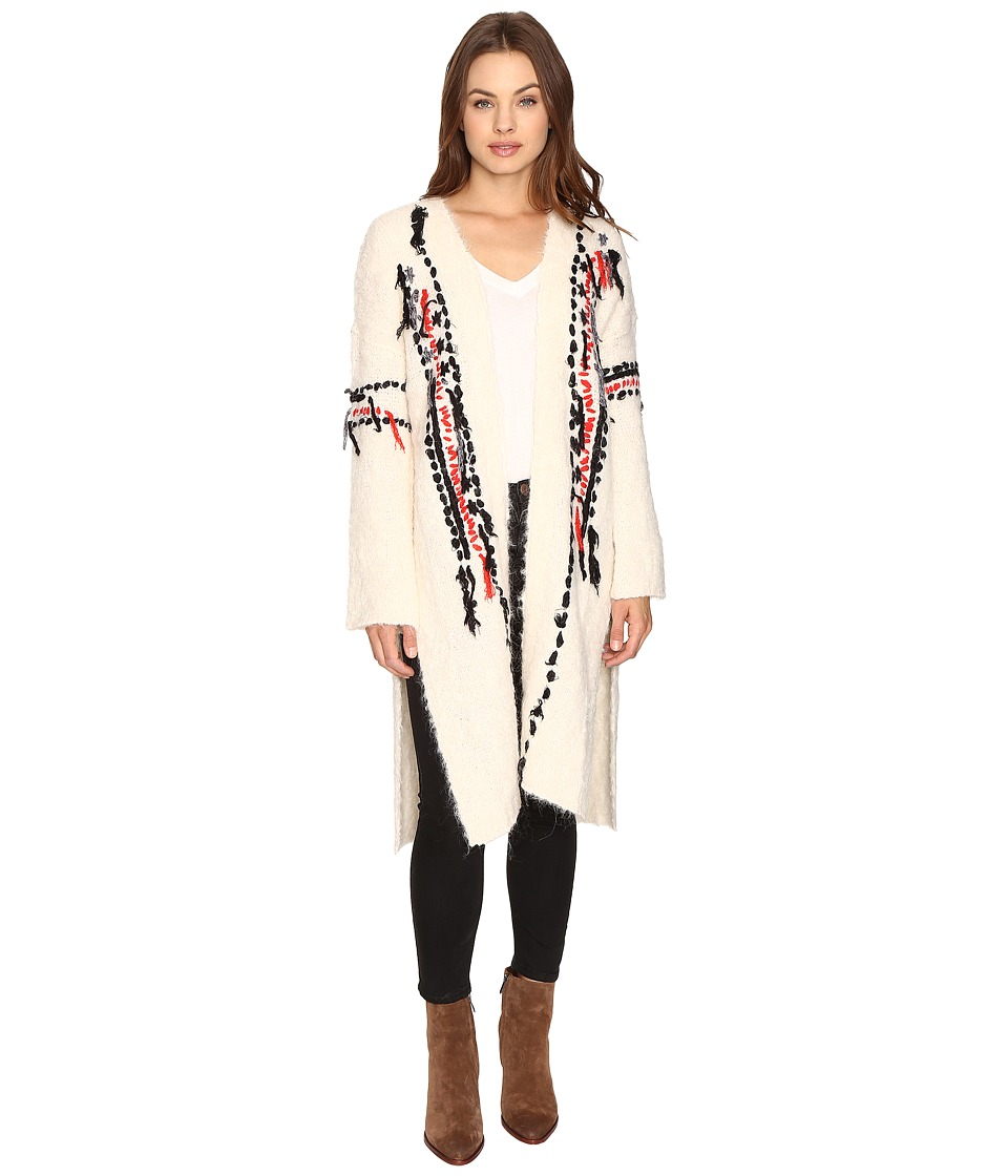 Free People - Geneva Cardi (Cream) Women's Sweater