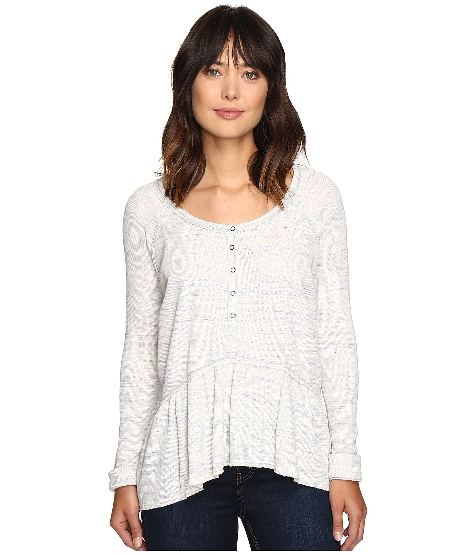 Free People - Coastline Tee (Ivory) Women's T Shirt