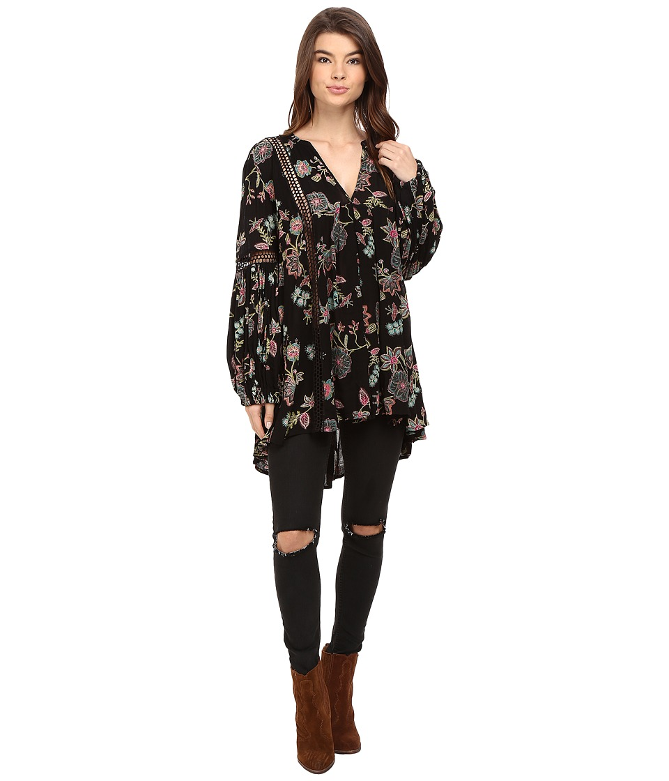Free People - Just The Two of Us Tunic (Black) Women's Clothing