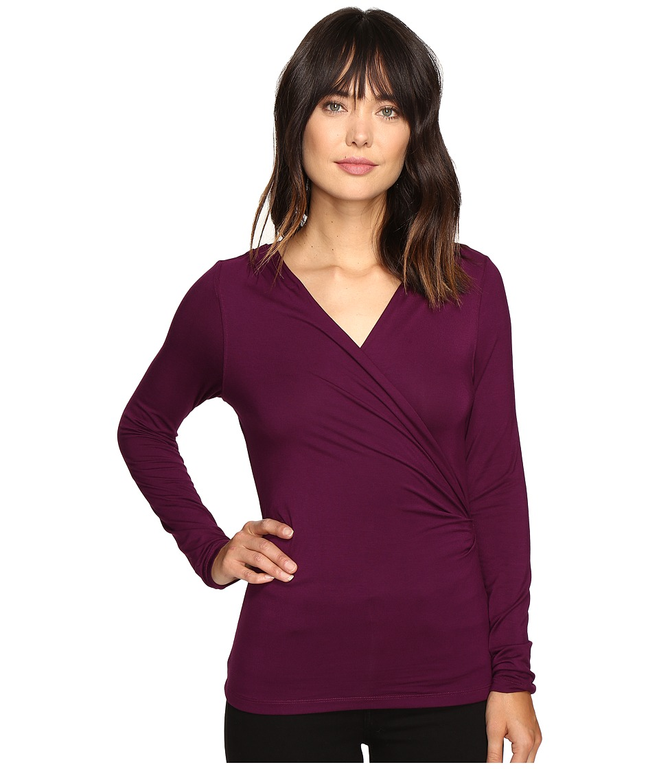 Free People - Be Your Baby Top (Plum) Women's Clothing