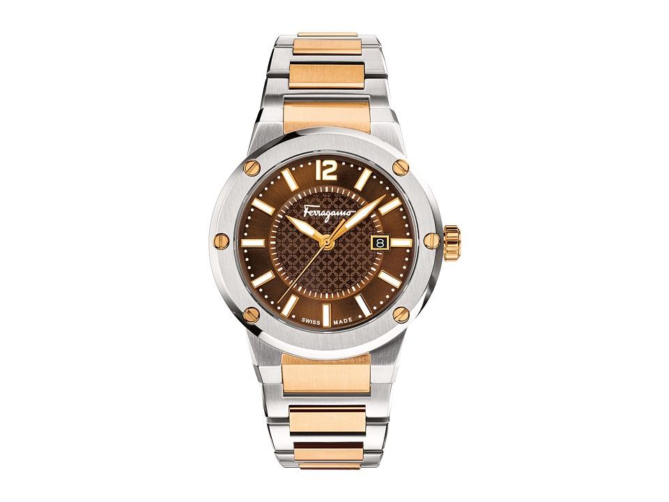 Salvatore Ferragamo - F-80 FIF040015 (Two-Tone) Watches