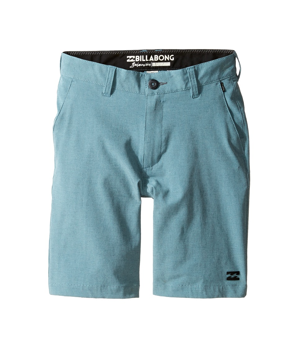 Billabong Kids - Crossfire X Shorts (Big Kids) (Aquatic Blue) Boy's Shorts