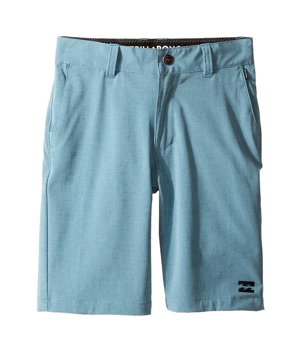 Billabong Kids - Crossfire X Shorts (Toddler/Little Kids) (Aquatic Blue) Boy's Shorts
