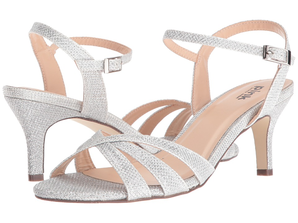 Paradox London Pink - Shelby (Silver) Women's Sandals