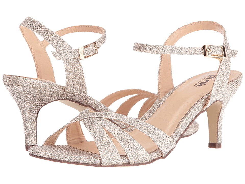 Paradox London Pink - Shelby (Champagne) Women's Sandals