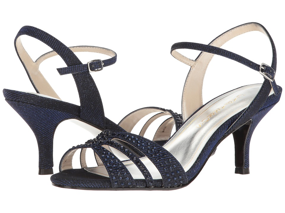 Caparros - Gemini (Navy Glimmer) Women's Dress Sandals