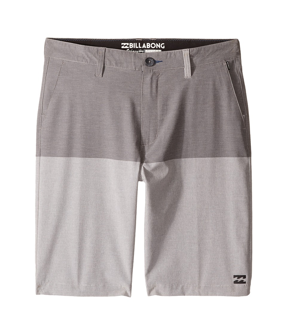 Billabong Kids - Crossfire X 50 50 Shorts (Big Kids) (Grey) Boy's Shorts