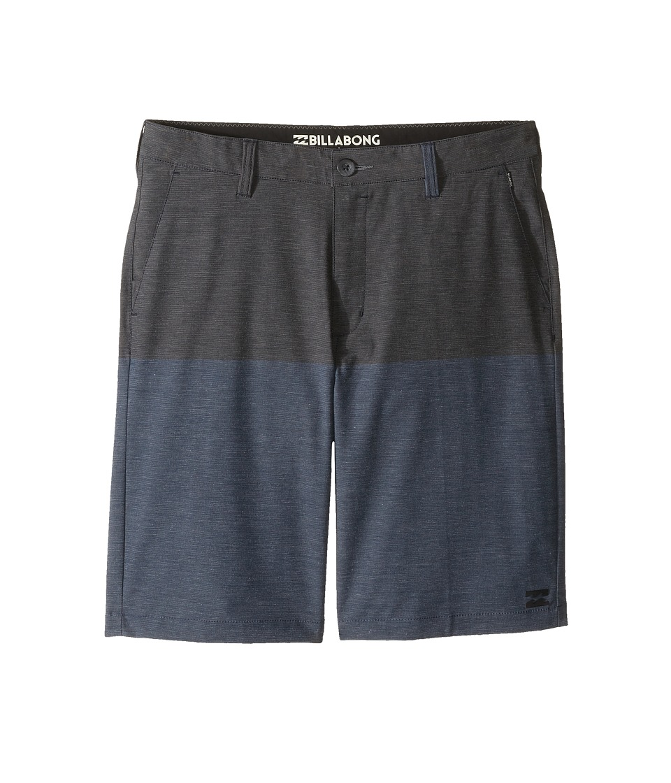 Billabong Kids - Crossfire X 50 50 Shorts (Big Kids) (Navy) Boy's Shorts