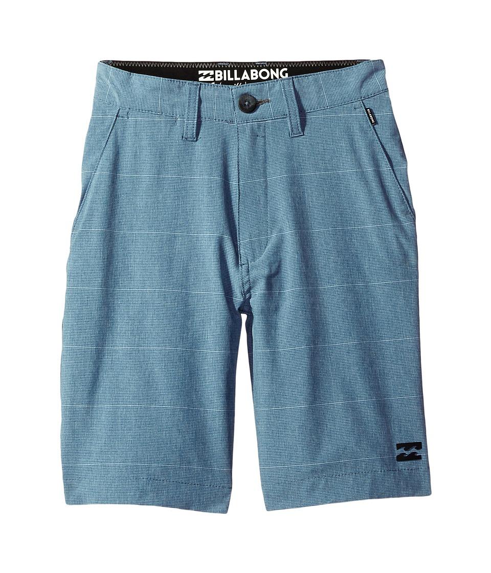 Billabong Kids - Crossfire X Stripe Shorts (Big Kids) (Royal) Boy's Shorts