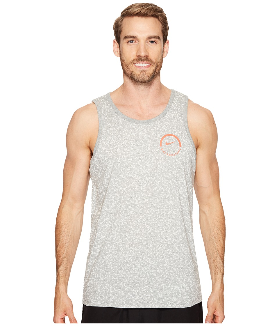Nike - Dry Basketball Tank (Dark Grey Heather/Dark Grey Heather) Men's T Shirt
