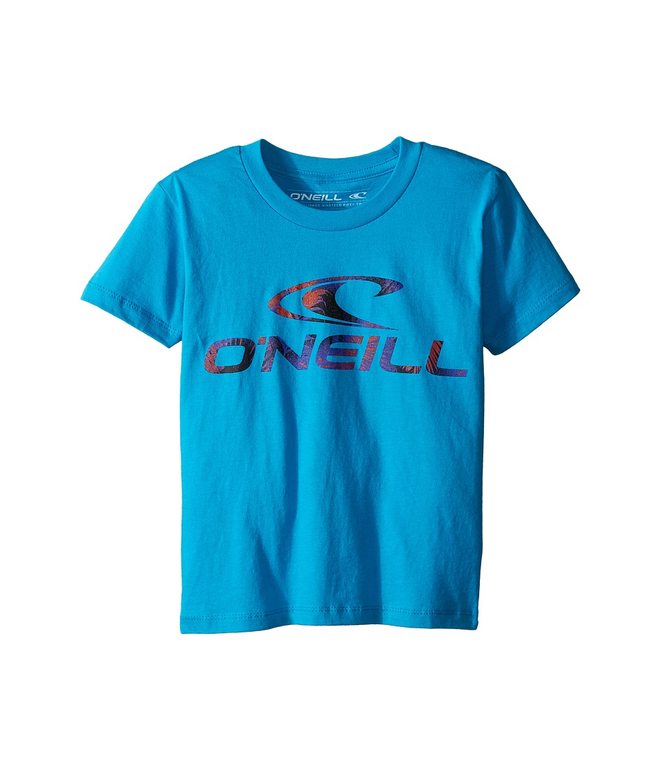 O'Neill Kids - Throttle Short Sleeve Screen Tee (Big Kids) (Turquoise) Boy's T Shirt