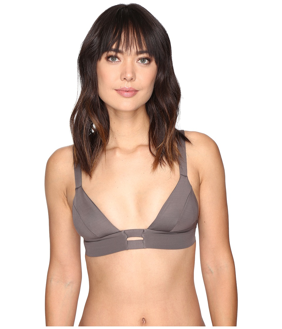 Vitamin A Swimwear - Neutra Bralette (Mineral Ecolux) Women's Swimwear