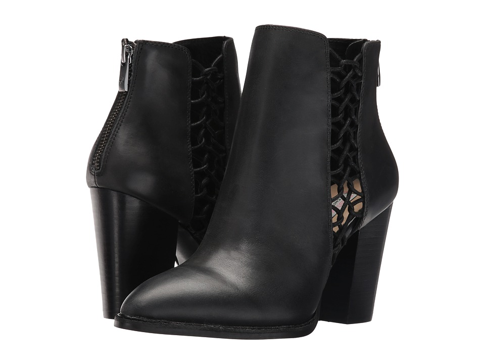 Kristin Cavallari Nashville Bootie (Black Leather) Women