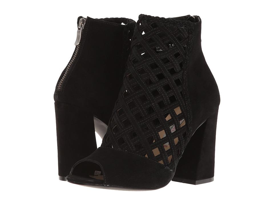 Kristin Cavallari - Luxembourg Shootie (Black Kid Suede) Women's Boots
