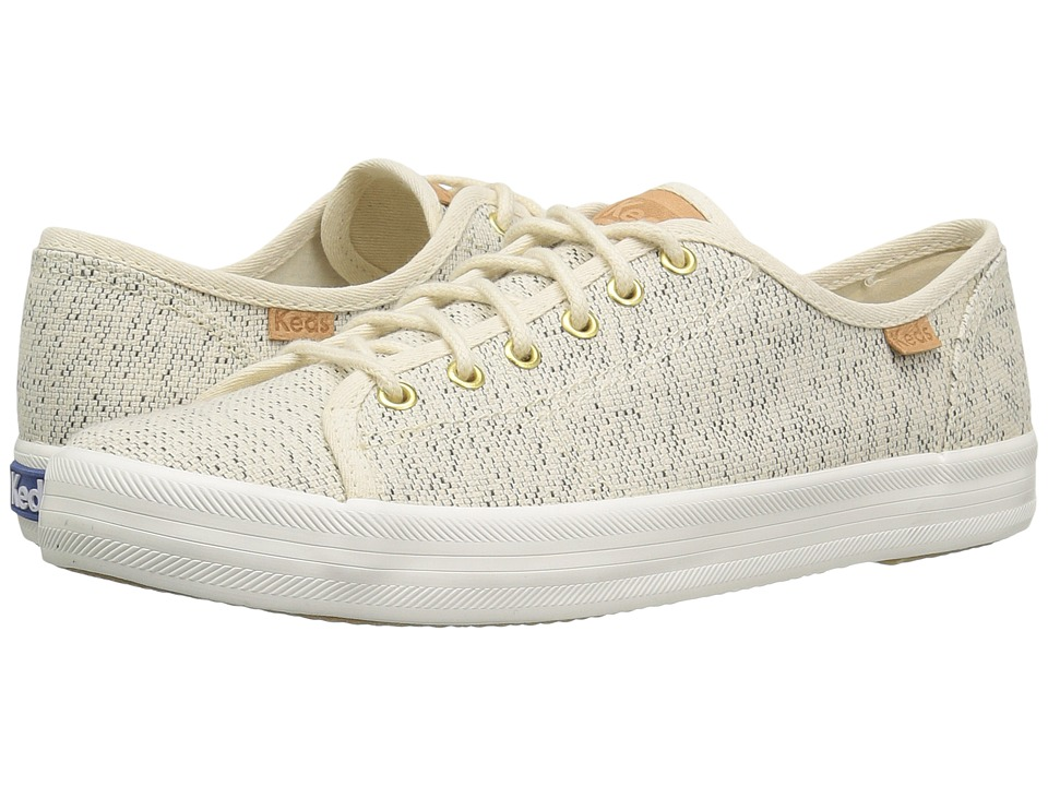 Keds - Kickstart Salt Pepper (Cream) Women's Lace up casual Shoes