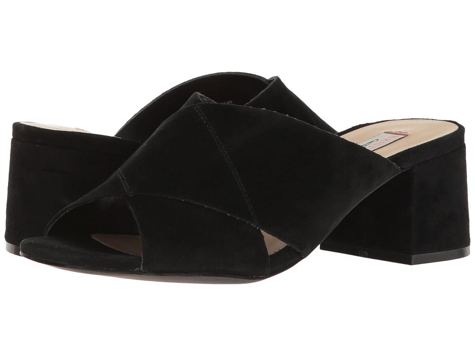 Kristin Cavallari - Luvvock Mule (Black Kid Suede) Women's Clog/Mule Shoes