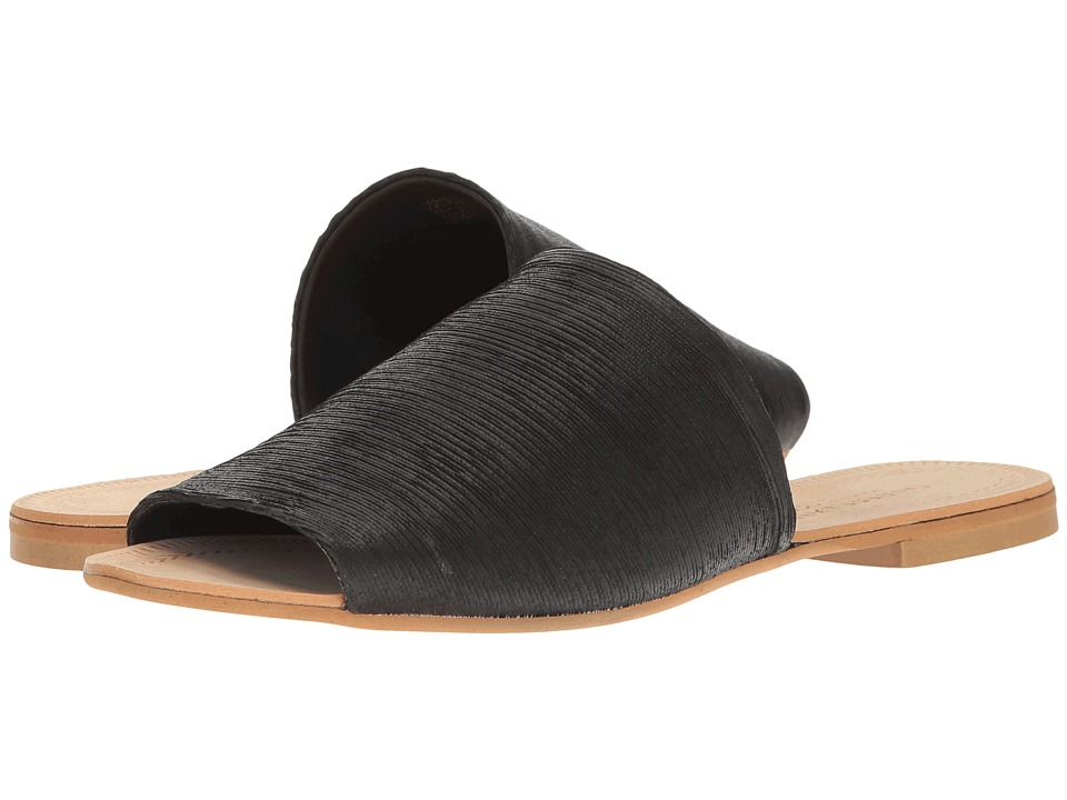 Kristin Cavallari Bahiti Slide (Black Leather) Women