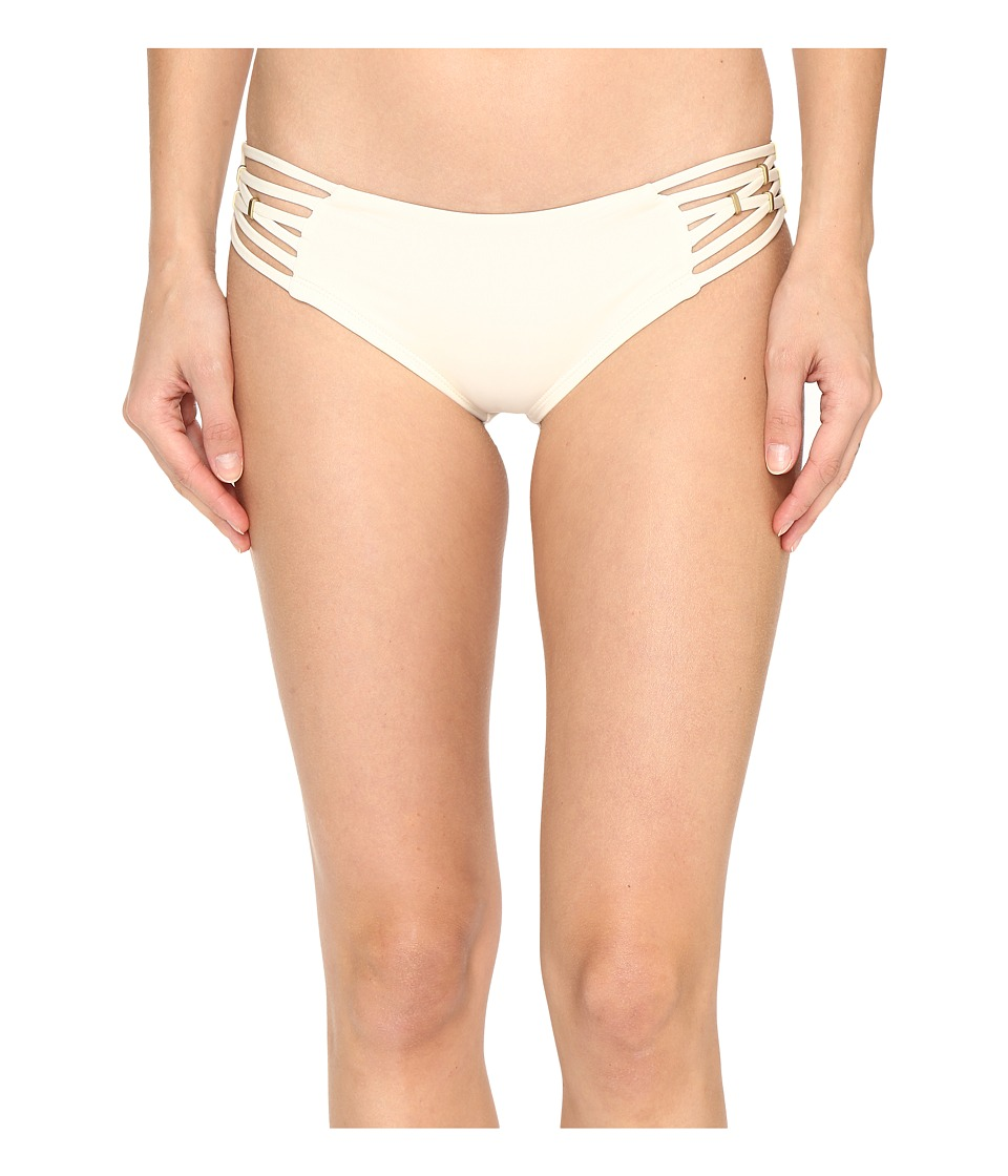 Vitamin A Swimwear - Amber Boyshort (Creme) Women's Swimwear