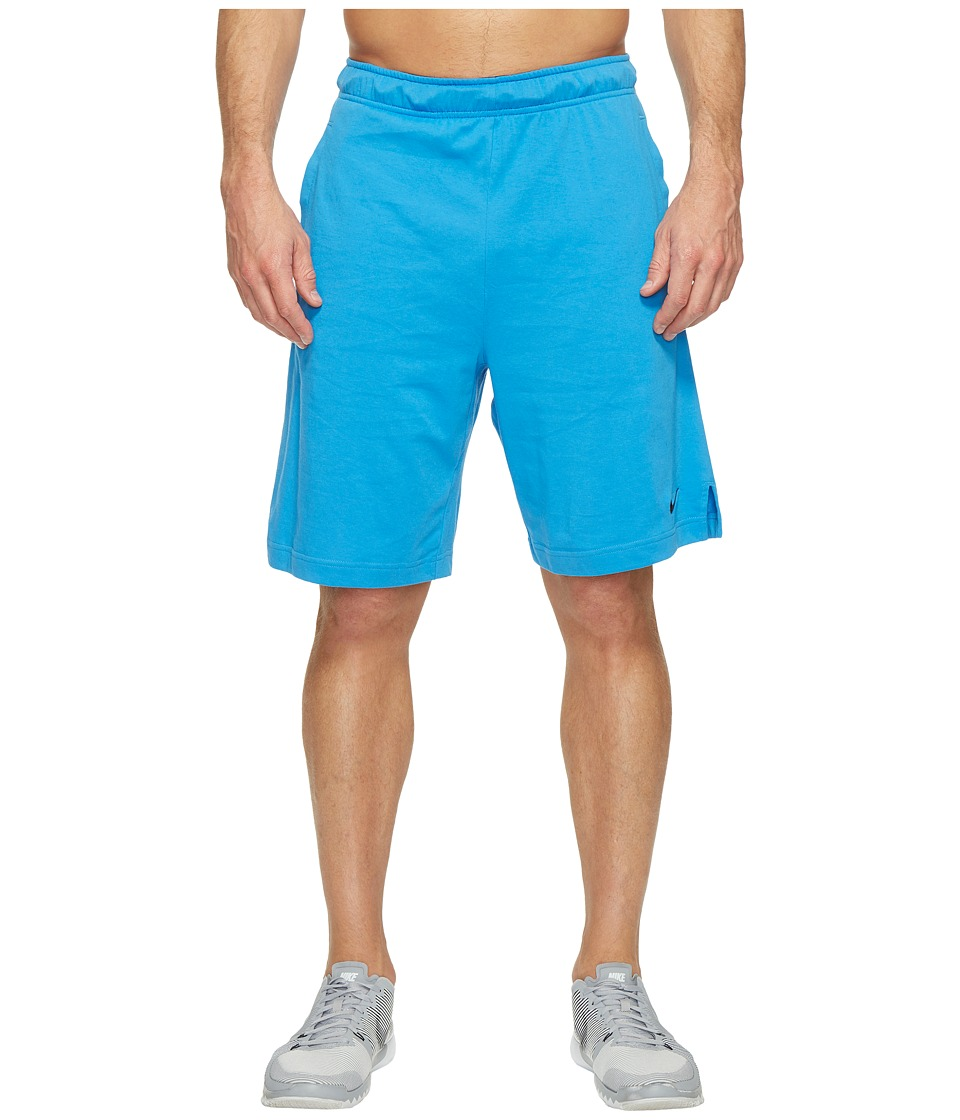 Nike - Training Short (Light Photo Blue/Black/Black) Men's Shorts
