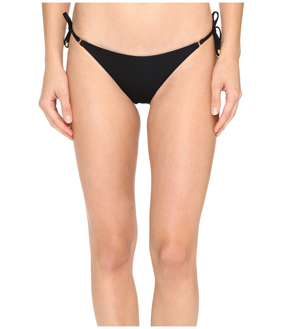 Vitamin A Swimwear - Tara Tie Side Bottom (Eco Black) Women's Swimwear