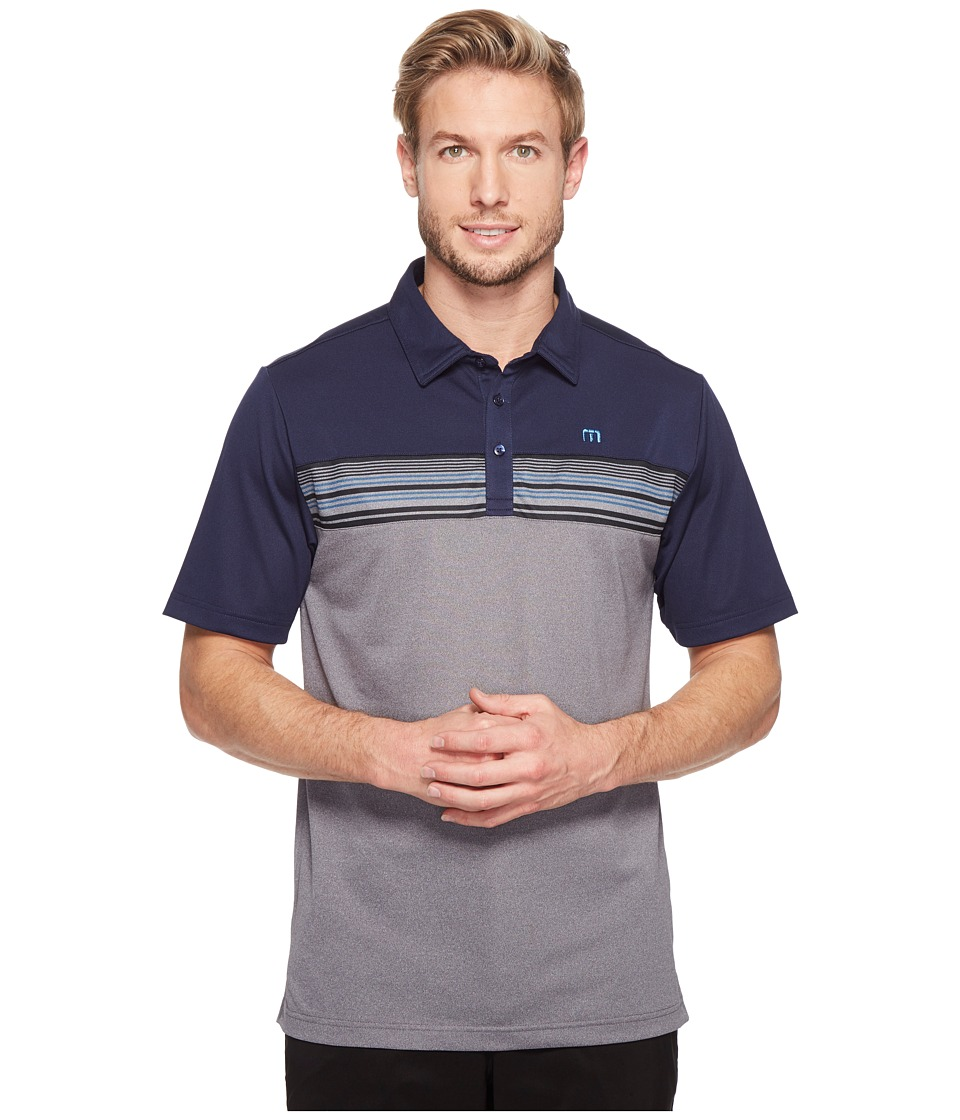 TravisMathew - Otters Polo (Iris) Men's Clothing