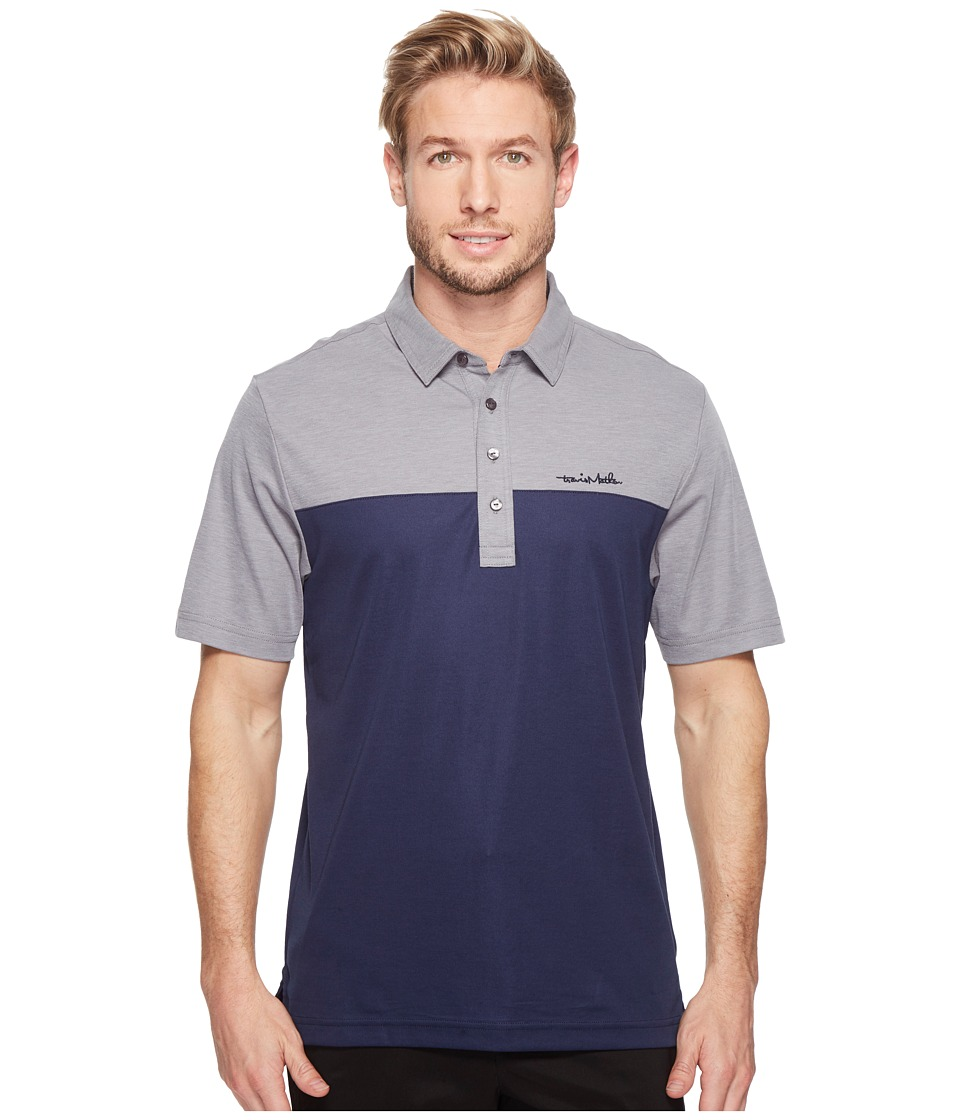 TravisMathew - Yoka Polo (Heather Griffin) Men's Clothing