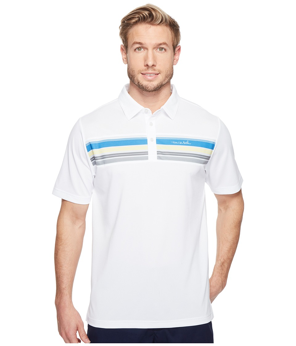 TravisMathew - Bayo Polo (White) Men's Clothing