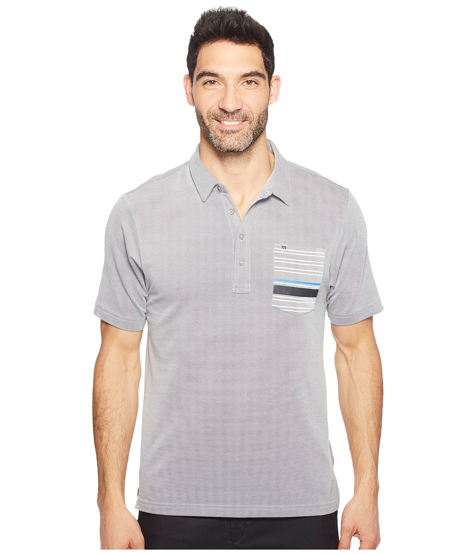 TravisMathew - Maravilla Polo (Quiet Shade/White) Men's Clothing