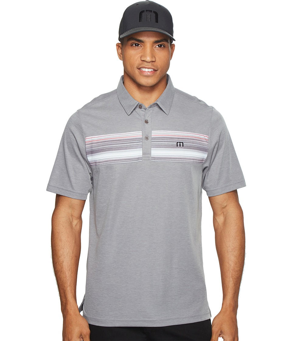 TravisMathew - Filanc Polo (Heather Griffin) Men's Clothing